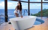 Arabella Wht Freestanding Stone Bath 1200 1800