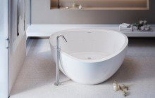 Trinity Relax Freestanding Light Weight Stone Bathtub High Gloss 03 (web)