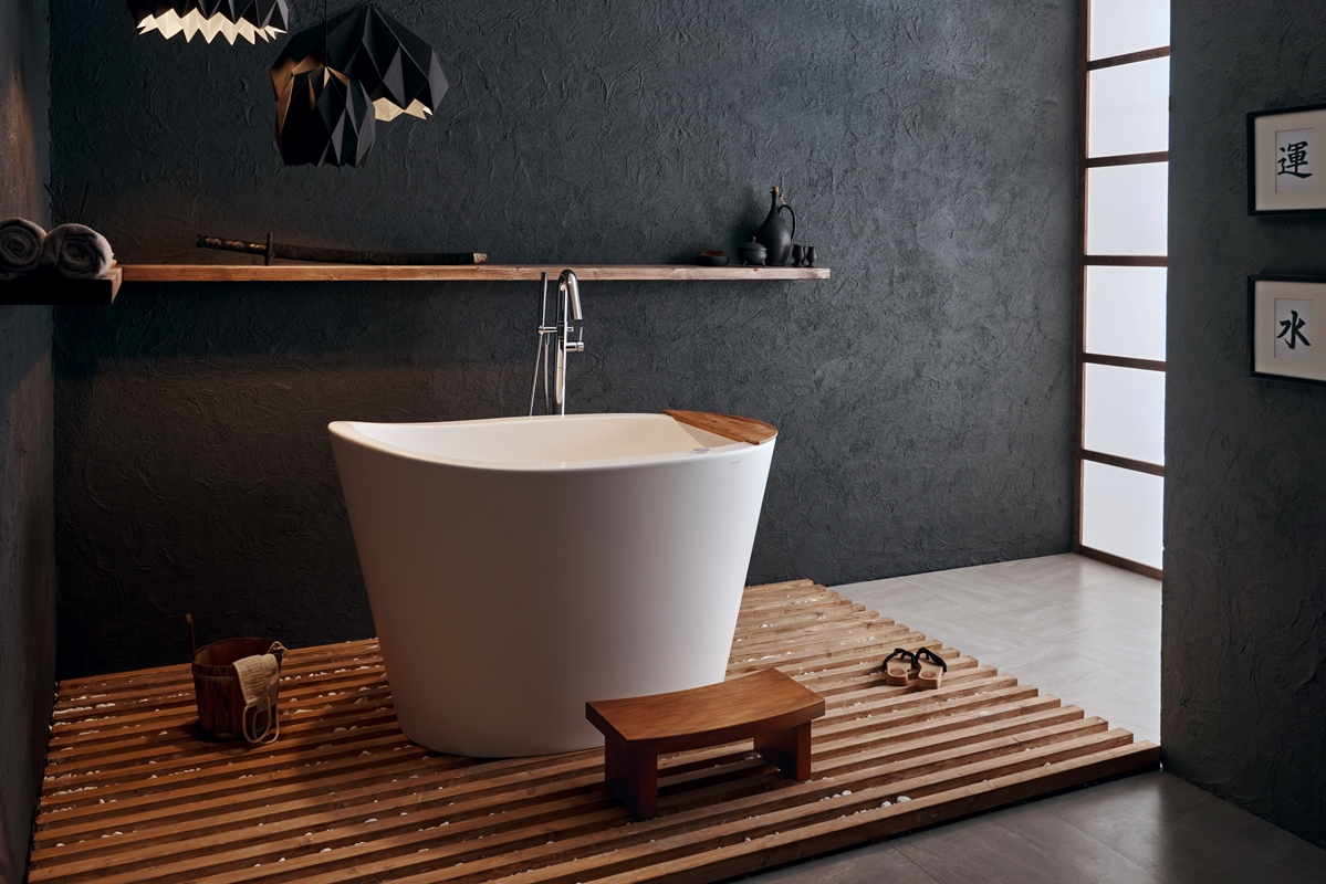 Aquatica True Ofuro Tranquility Baignoire Japonaise Chauffee 220