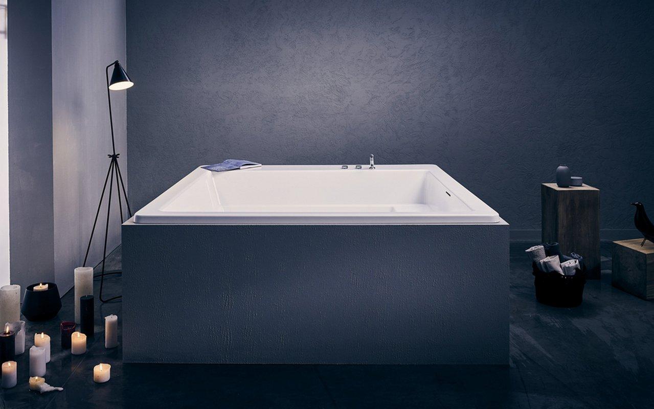 baignoire acrylique drop-in aquatica lacus-wht