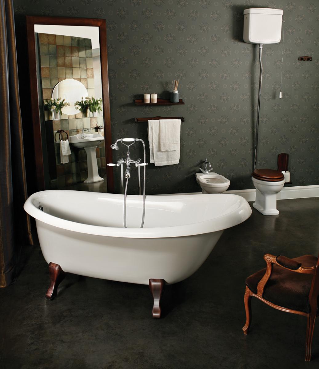 nostalgia wht ash legs par aquatica baignoire autoportante en pierre. Black Bedroom Furniture Sets. Home Design Ideas