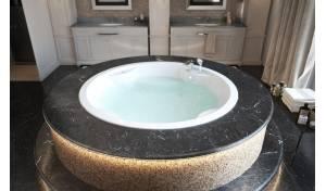 Aquatica Allegra-Wht Baignoire encastrée massage a l'air