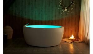 Aquatica Pamela-Wht Relax Air Baignoire en acrylique de massage