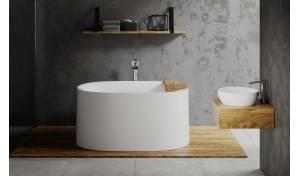 Sophia-Wht Bathtub Collection