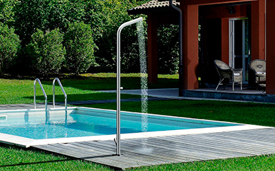 more ways outdoor showers